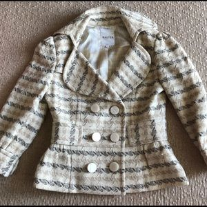 Walter Double Breasted Boucle Tweed Blazer 4